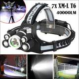 4000 Lumens Rechargeable Led Headlamp