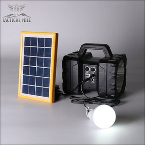 All-In-One Solar Power Camping Power Bank