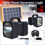 All-in-one Solar Power Camping Power Bank - Full Solar System