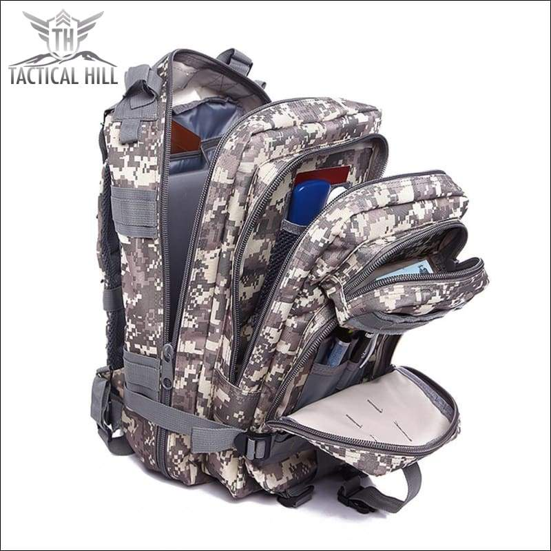 Bag - TACVASEN 35L Molle Military Tactical Backpack Rucksack