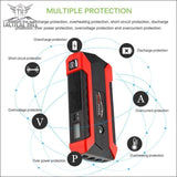 Charger - Car Jump Starter 600A Peak Battery Booster With Charger LED Flashlight