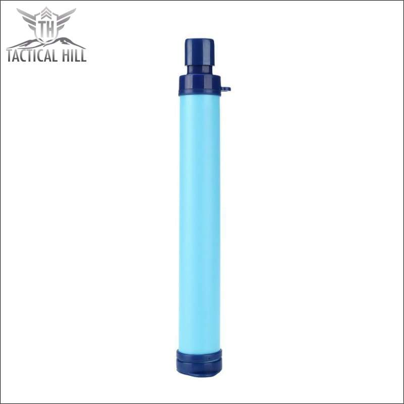 Emergency Survival Portable Water Purifier - Blue