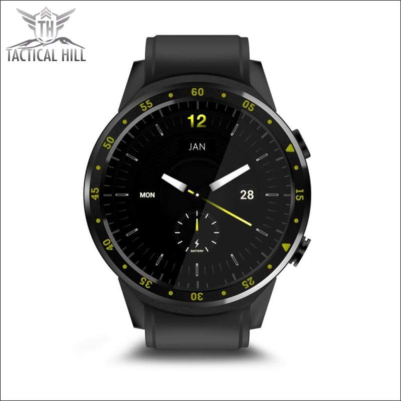 F1™ Touchscreen GPS Sport Smartwatch (SIM Enabled) - Night Watch - Interchangeable Face