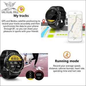 F1™ Touchscreen GPS Sport Smartwatch (SIM Enabled) - Tracking - Running Mode