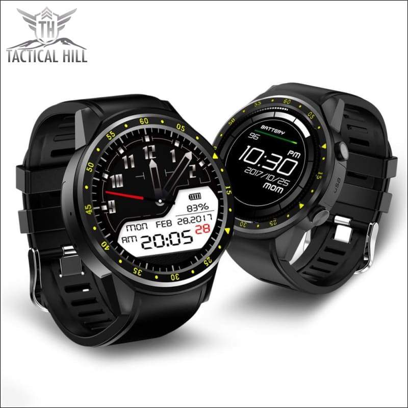 F1™ Touchscreen GPS Sport Smartwatch (SIM Enabled) - Best Budget Smartwatch