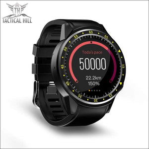 F1™ Touchscreen GPS Sport Smartwatch (SIM Enabled) - Steps Info Page