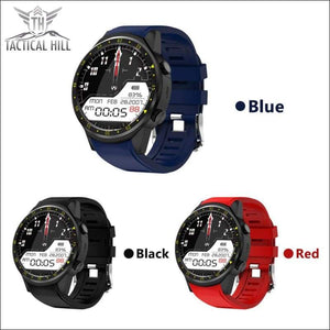 F1™ Touchscreen GPS Sport Smartwatch (SIM Enabled) - 3 Color Stripes