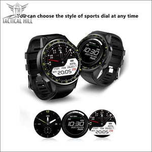 F1™ Touchscreen GPS Sport Smartwatch (SIM Enabled) - Affordable Smartwatch