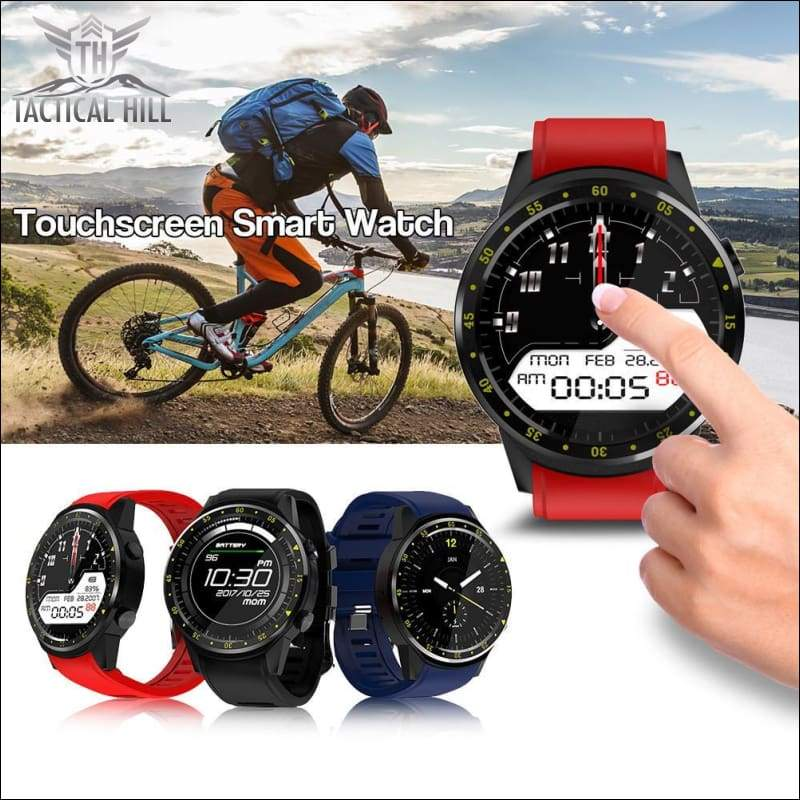 F1™ Touchscreen GPS Sport Smartwatch (SIM Enabled) - Touch Screen