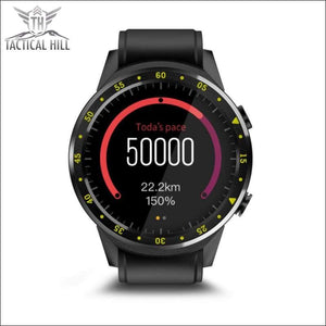 F1™ Touchscreen GPS Sport Smartwatch (SIM Enabled) - Pedometer