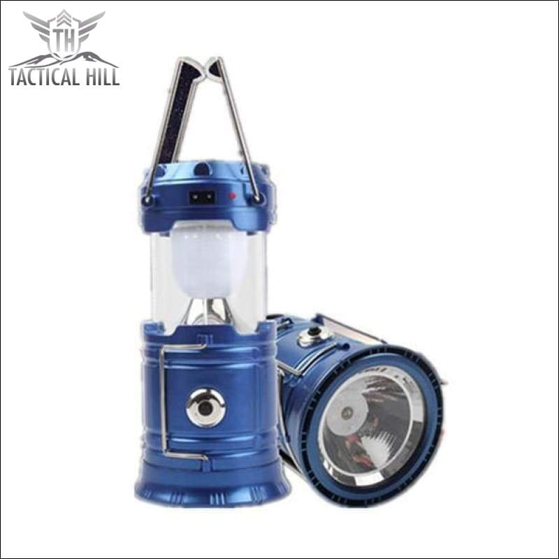 Flashlight - Solar Camping Light With Internal Power Bank