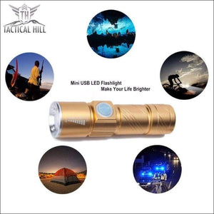 Flashlight - USB Rechargeable Magnetic LED Flashlight