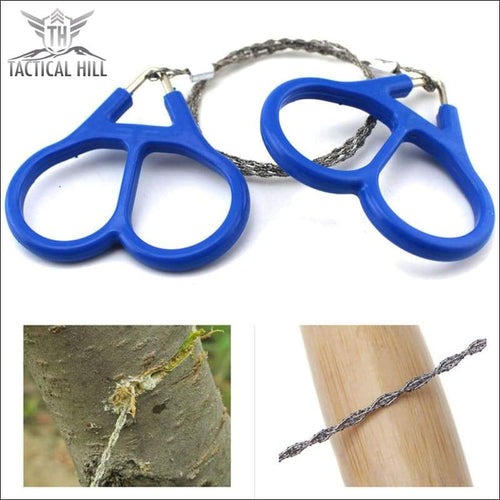 Gadget - ZAZ Camping Stainless Steel Wire Saw
