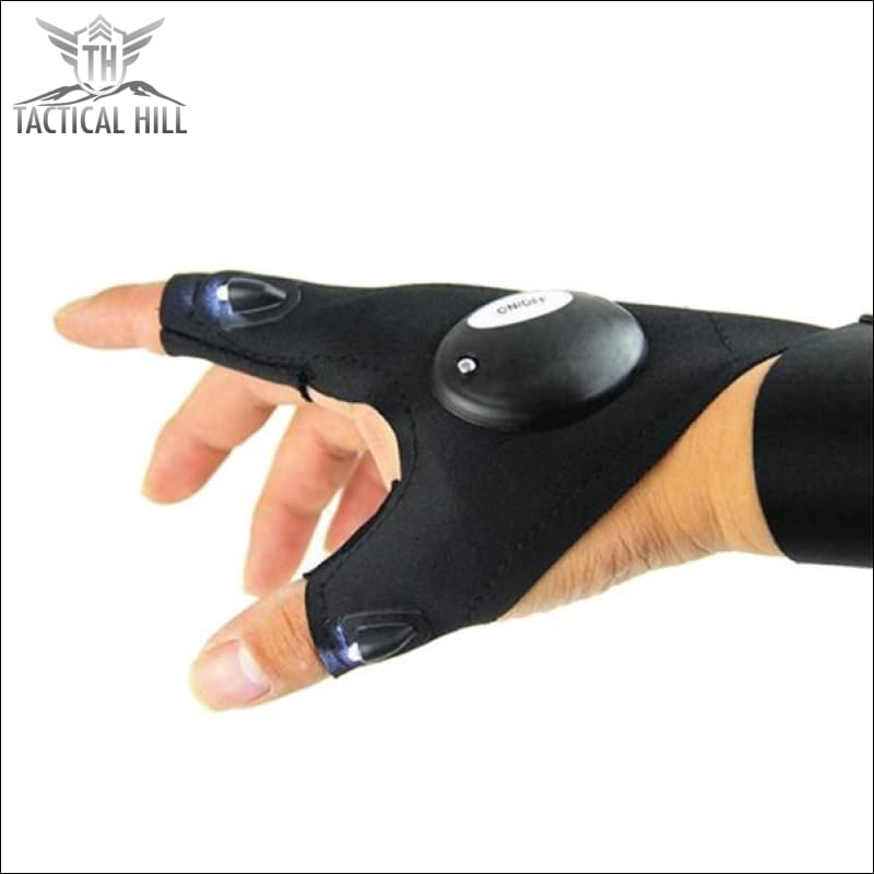 Magic Led Flashlight Glove - Flashlight
