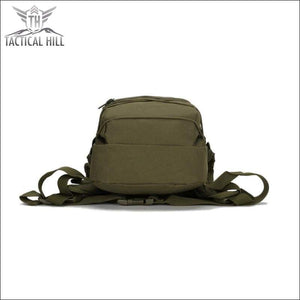 Military Tactical Camouflage Backpack - Bottom