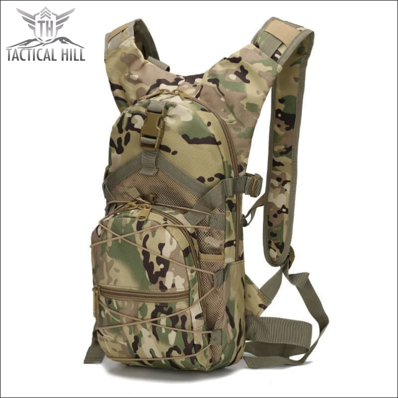 Military Tactical Camouflage Backpack - Army Camo