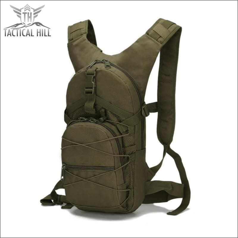 Military Tactical Camouflage Backpack - Army Green