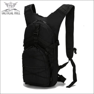 Military Tactical Camouflage Backpack - Black