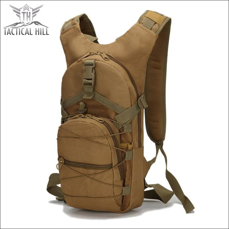 Military Tactical Camouflage Backpack - Desert
