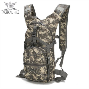 Military Tactical Camouflage Backpack - Navy Camo