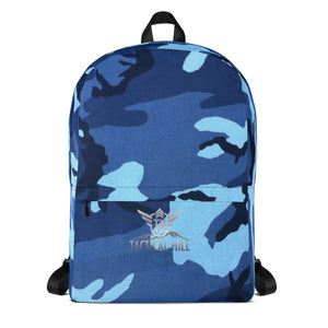 Navy Camo Backpack