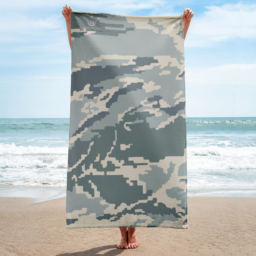 Air-Force Camo Beach Towel