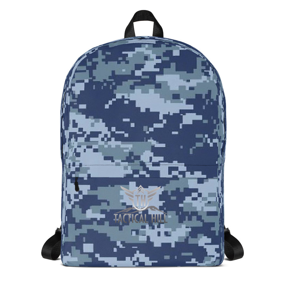 Digital Navy Camo Backpack