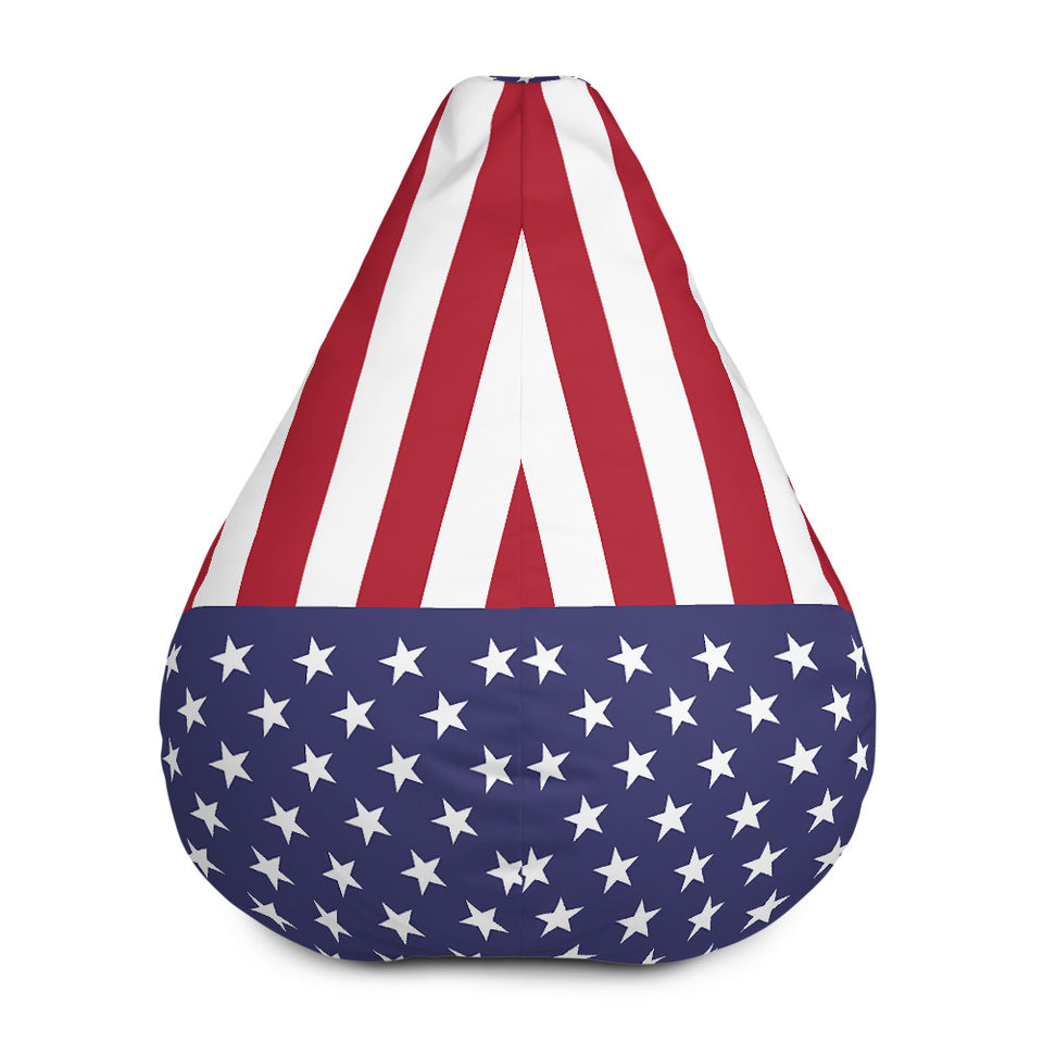 Stars and Stripes Bean Bag Chair w/ filling