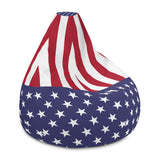 Stars and Stripes Bean Bag Chair with filling