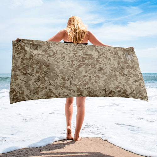 Desert Camo Beach Towel
