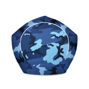 Navy Camo Bean Bag Chair with filling