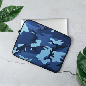 Navy Camo Laptop Sleeve