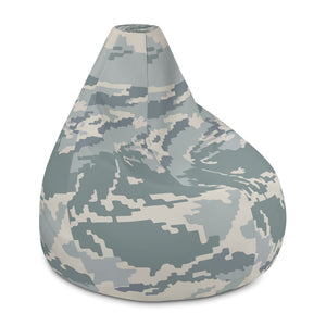 Airforce Battle Camo Bean Bag Chair with filling