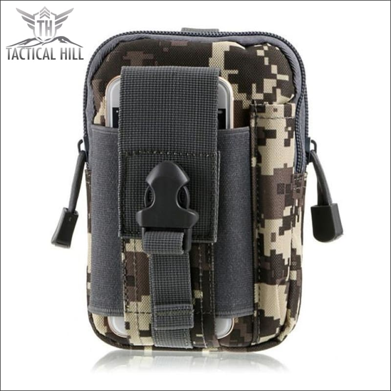 Outdoor Tactical Molle Pouch - Acu