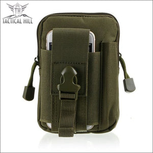 Outdoor Tactical Molle Pouch - Army Green