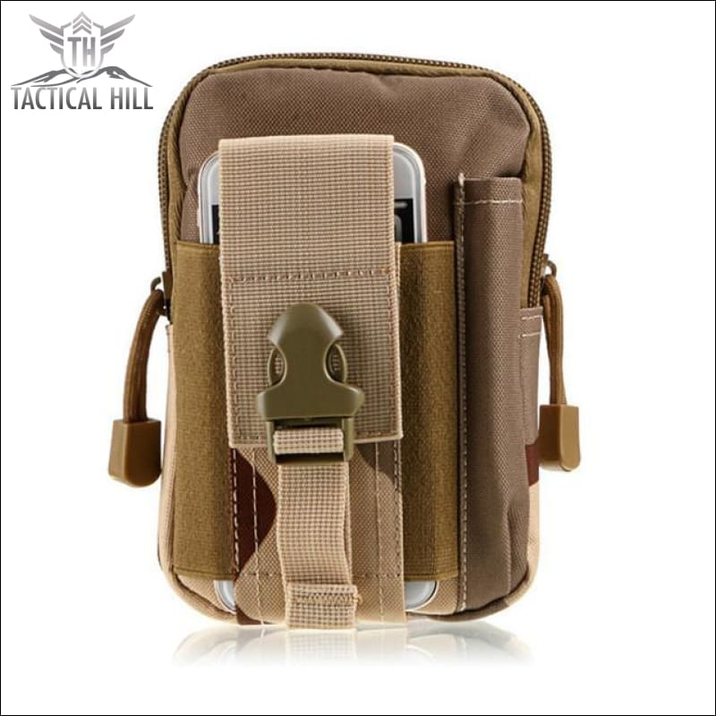 Outdoor Tactical Molle Pouch - Desert Camouflage