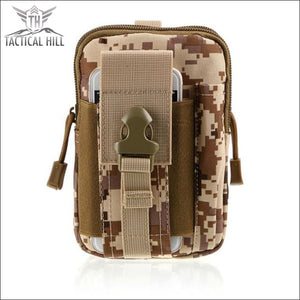 Outdoor Tactical Molle Pouch - Desert Sand
