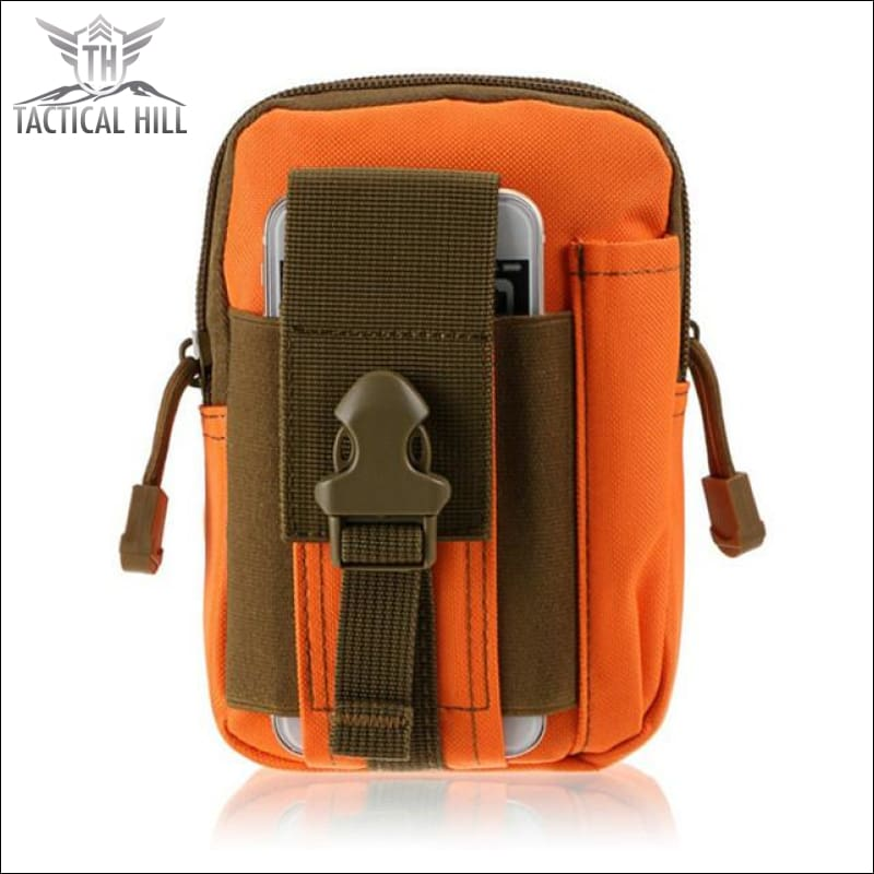 Outdoor Tactical Molle Pouch - Orange