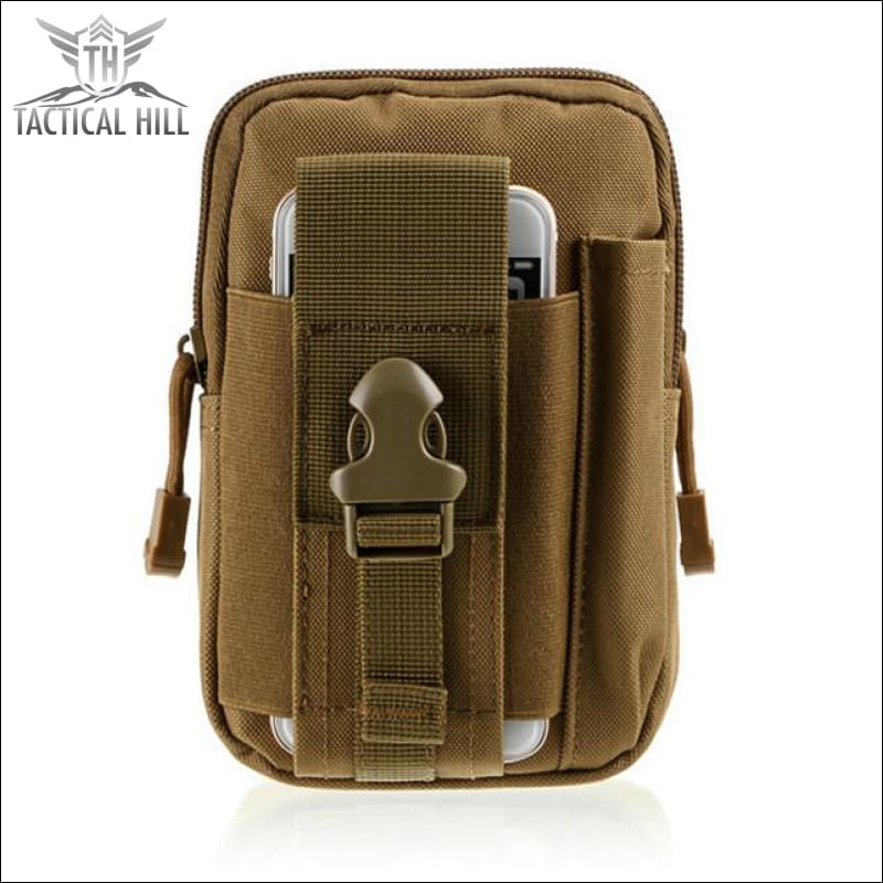 Outdoor Tactical Molle Pouch - Tan