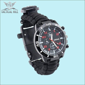 PARACORD™ 16 In 1 SURVIVAL WATCH - Front