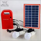 Portable Solar Panel Power Generator - Front View