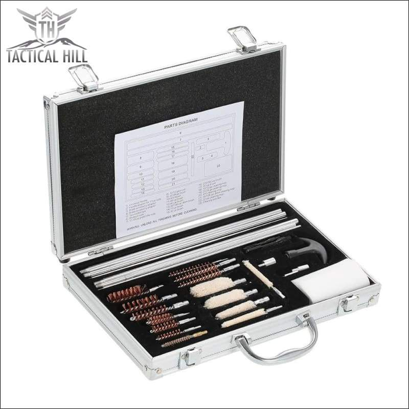 Premium Tactical Maintenance Kit - Aluminium Case Side