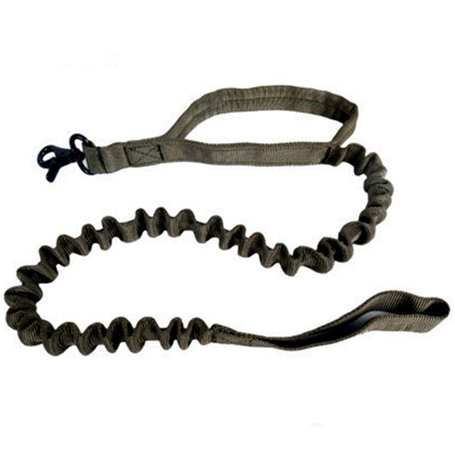 US Army Tactical Dog Bungee Leash
