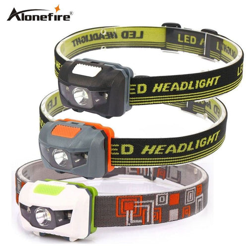 4Mode lightweight Waterproof LED Headlight