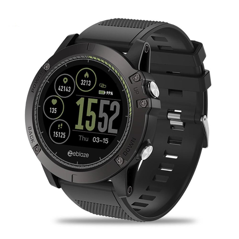 Rugged Smartwatch Tact VIBE 3 HR front