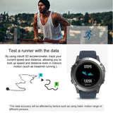 Rugged Smartwatch Tact VIBE 3 HR GPS Track