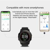 Rugged Smartwatch Tact VIBE 3 HR phone connectivity