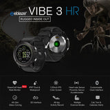 Rugged Smartwatch Tact VIBE 3 HR features
