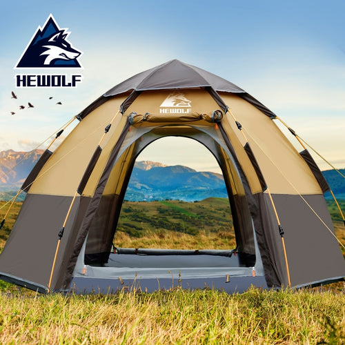 Double Layer Quick Open Tent