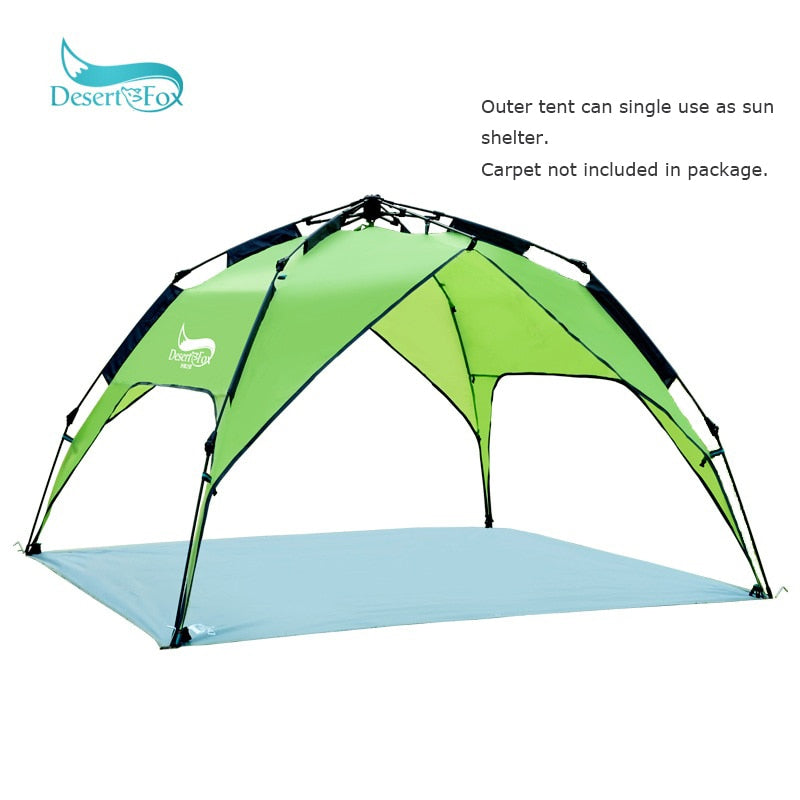 Instant Fold Camping Tent 3-4 Person